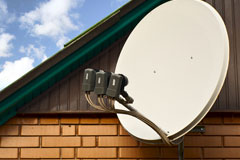 how Camden satellite dishes work